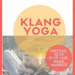 Klang-Yoga am 20.03.2020